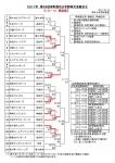 2017年 第38回栄町酉市少年野球大会組合せ
