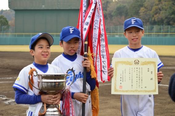 第41回木下杯少年野球大会優勝!!